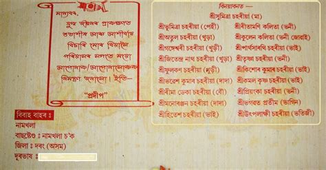 Wedding Card Writing In Bengali by Card Invitation Ideas Bengali Marriage Invitation Card