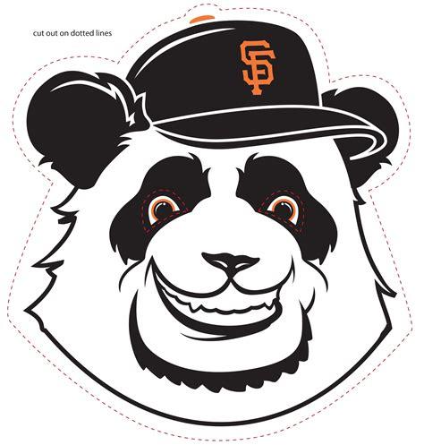 pin panda mask template on pinterest