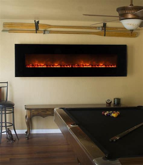 electric fireplace wall mount modern modern flames 95 inch wall mount linear electric fireplace
