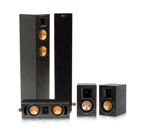 home audio klipsch rf 42 ii reference series 5 0 home