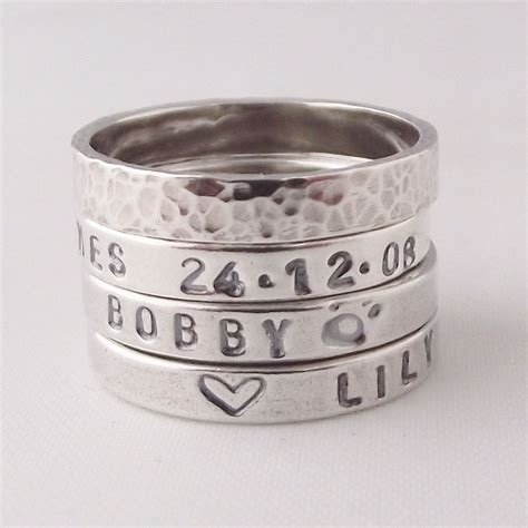 the original handmade sterling silver personalised name