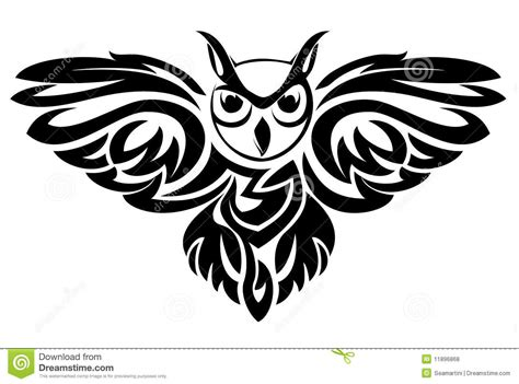 owl symbol royalty free stock photos image 11896868