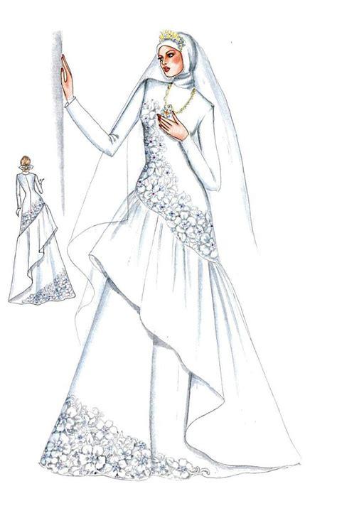 model gaun pengantin muslimah modern trend grosir tas murah bandung