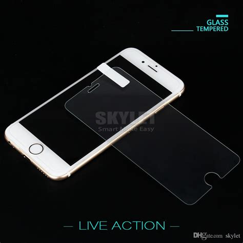 tempered glass for iphone xs max xr 8 7 plus 6s plus new iphone screen protector 9h 0 33mm