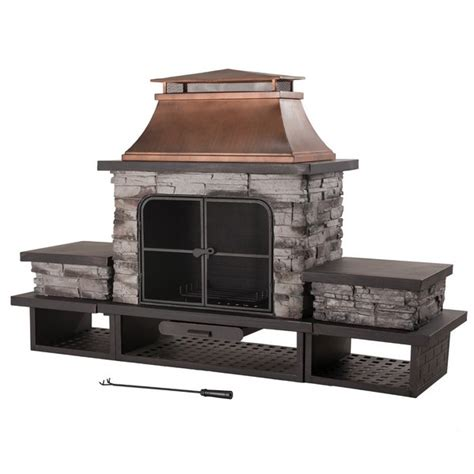 Modular Outdoor Fireplace Systems by 31 Unique Outdoor Fireplace Designs Ideas And Kits