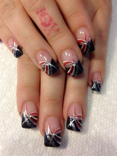 beauty 25 pattern acrylic nail tips french false nail art best 25 silver tip nails ideas on pinterest glitter