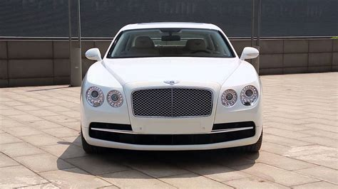 white bentley flying bentley flying spur glacier white youtube