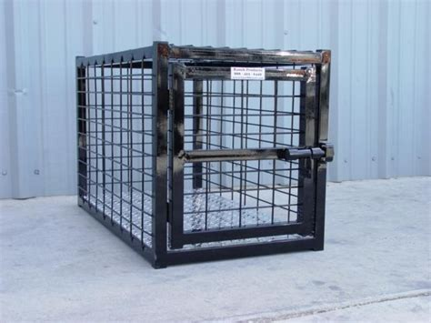indestructible kennel crate 48 quot l x 42 quot w x 31 quot h w black powder coat