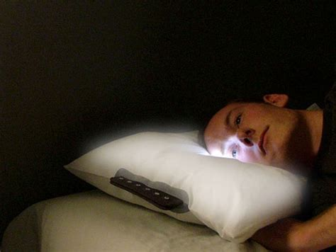 Pillow Alarm Clock by Led Pillow Clock Wakes With Light Not Sound Technabob