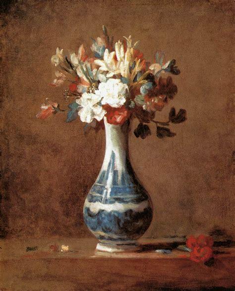 a vase of flowers by chardin jean baptiste simon