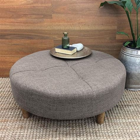 round fabric ottoman coffee table large round coffee table ottoman fabric side stool chair