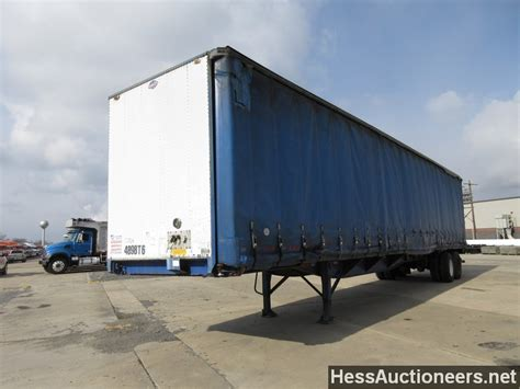 curtain trailers for sale used 1998 utility 48 curtain side trailer for sale in pa