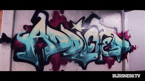 bliss n eso addicted graffiti stop motion bliss n eso addicted