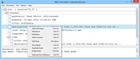 xml editor design view xml tree editor download