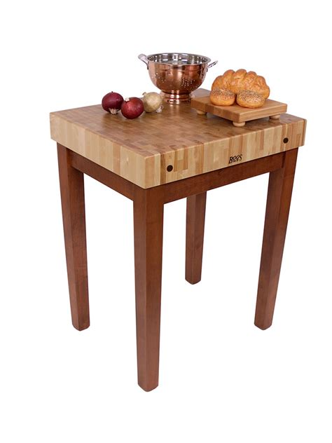 Boos Kitchen Island by John Boos Chef S Block Butcher Block Kitchen Island 8