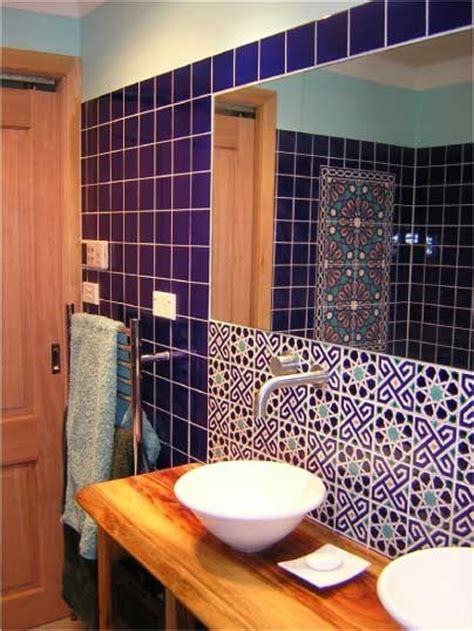 bathroom with turkish tiles