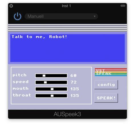 Garageband Plugins Iphone Unser Weg Zum Speech Synthesizer Plugins In Garageband