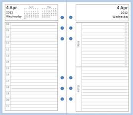 personal daily journal template my all in one place free day per page and day on two