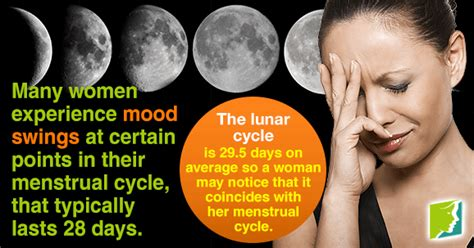 mood swings menstruation how the moon affects mood