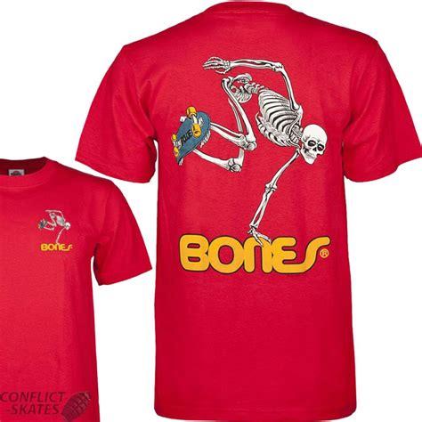 Tshirt I M Skateboard Cloth powell peralta bones skate skeleton skateboard t shirt