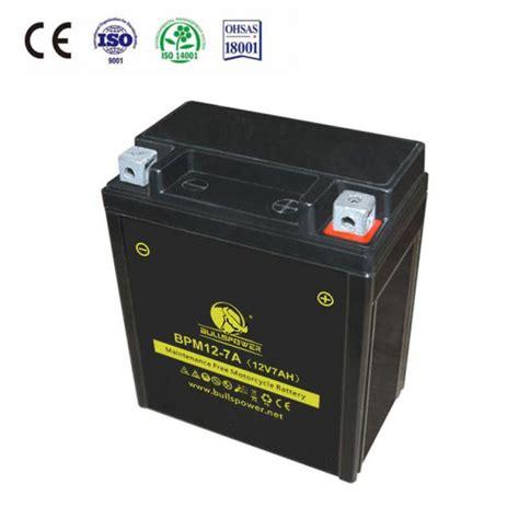 Motorrad Batterie 12v 7ah by Moto De Bateria De 12v 7ah Bpm