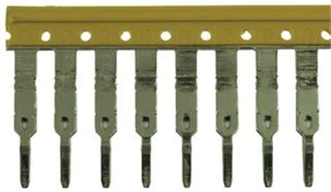 Jumper For Terminal Block Ukjumper Uk For Tuk3n Tuk5n 1693890000 weidmuller terminal block jumper 50way 5 1mm