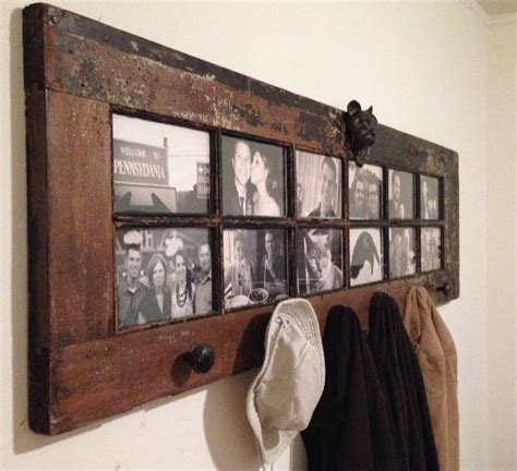 door repurposed as diy coat rack coat racks