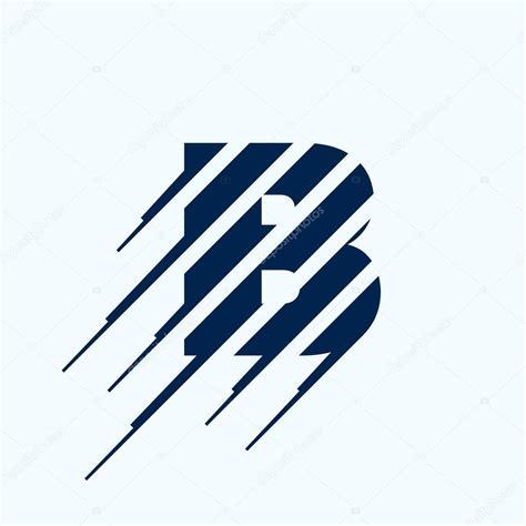 html layout logo b letter logo design template stock vector 169 kaer dstock
