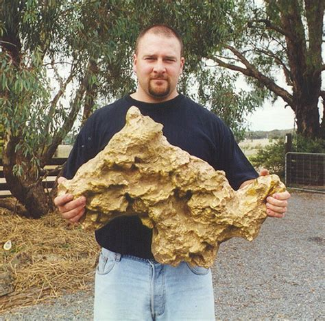 Finding Gold In Your Backyard by Third Largest Gold Nugget In The World Discovered In Australia