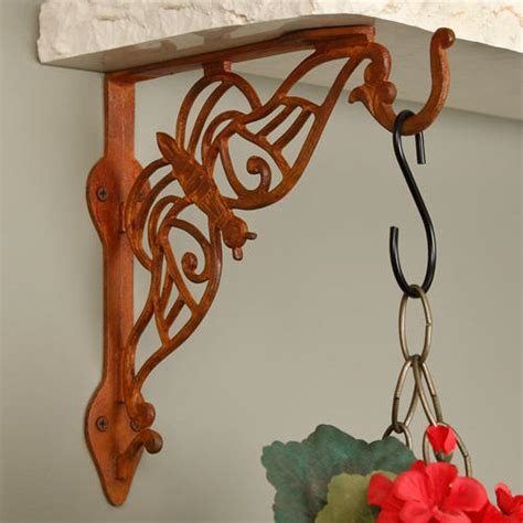 swing arm plant hanger victorian cast iron hanging plant bracket with swivel
