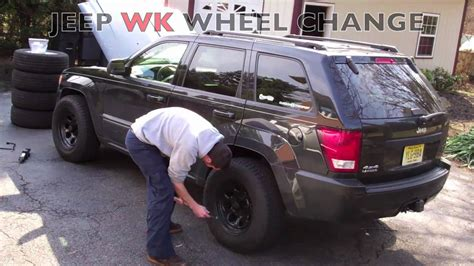 Best Tires For 2011 Jeep Grand 2005 2010 Jeep Grand Wk Wheel Change