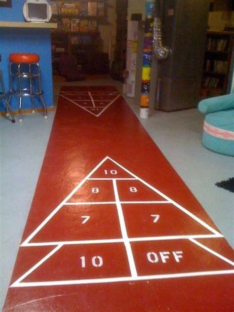 backyard shuffleboard court 1000 images about shuffleboard on pinterest butcher