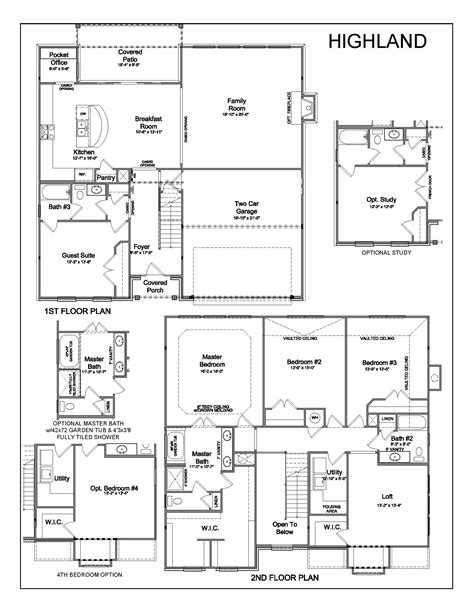 highland homes floor plan 926