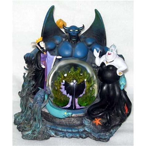 your wdw store disney snow globe villains chernabog