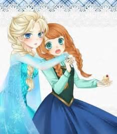 Frozen anime elsa frozen and chibi on pinterest