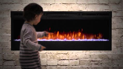 linear fireplace electric dimplex prism series linear electric fireplaces