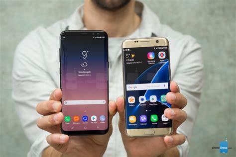 V Samsung S7 Edge Samsung Galaxy S8 Vs S7 Edge