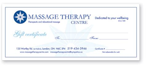 therapy gift certificate template free 28 therapy gift certificate template a