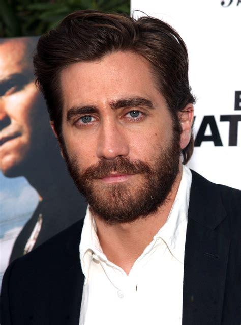 actor with big white beard beard or bald faced jake gyllenhaal go fug yourself