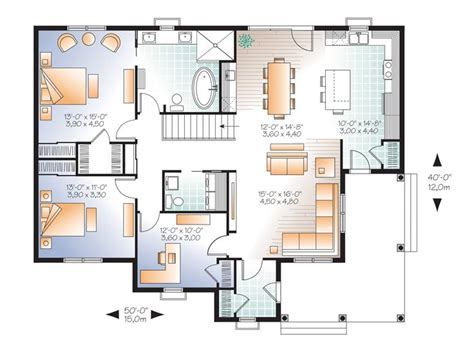 empty nester floor plans empty nester house plans country traditional empty