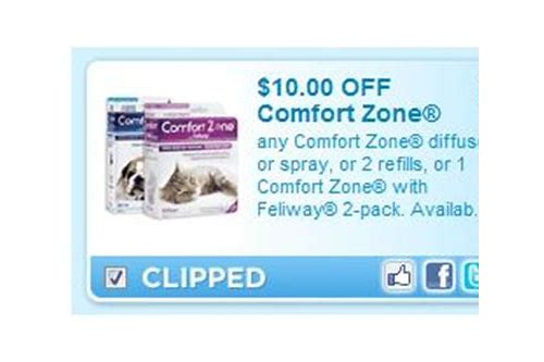 comfort zone feliway printable coupon