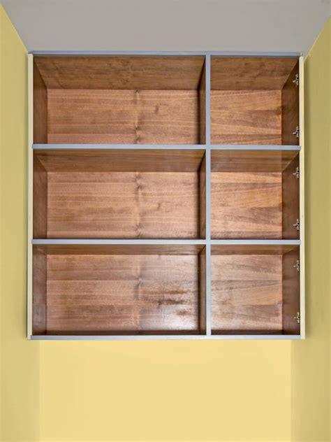 Pre Built Closet by How To Build A Closet Storage Unit Hgtv