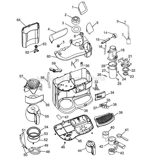 Parts for BC070   Delonghi   Coffee Makers