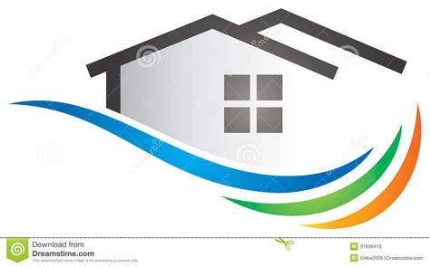 stock photo house logo image