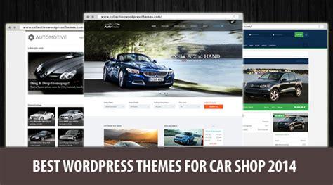 wordpress themes top 2014 best and beautiful car wordpress themes 2014 best