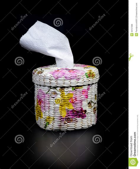 Paper Handicraft - handicraft tissue box stock photo image of hygiene soft