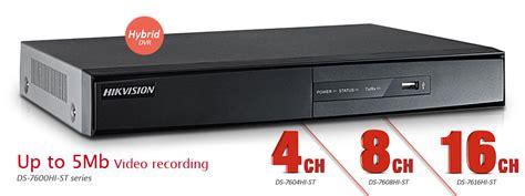 nvr hikvision   channel   channel hybrid dvr ip