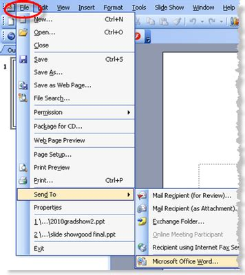 convert pdf to word to ppt how to convert powerpoint to word