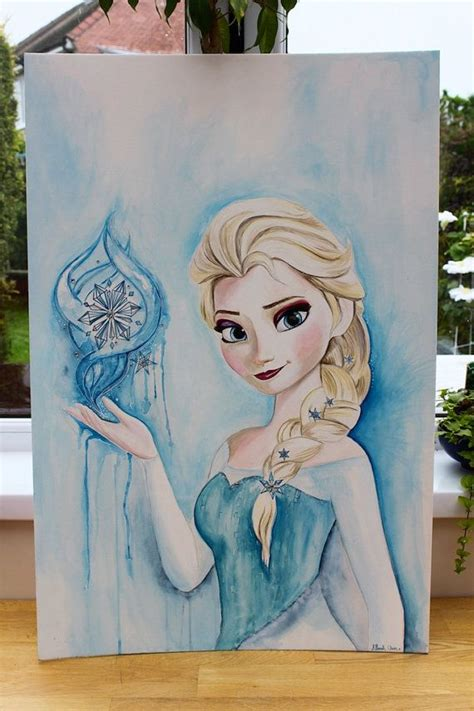25 best ideas about frozen painting on olaf cube painting and olaf frozen