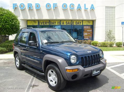 jeep liberty navy blue 2003 patriot blue pearl jeep liberty sport 8246653